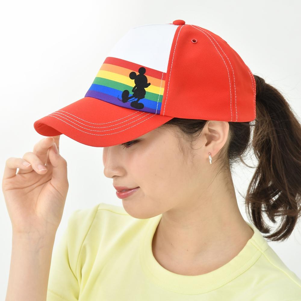 ミッキー 帽子・キャップ The Walt Disney Company's Pride collection