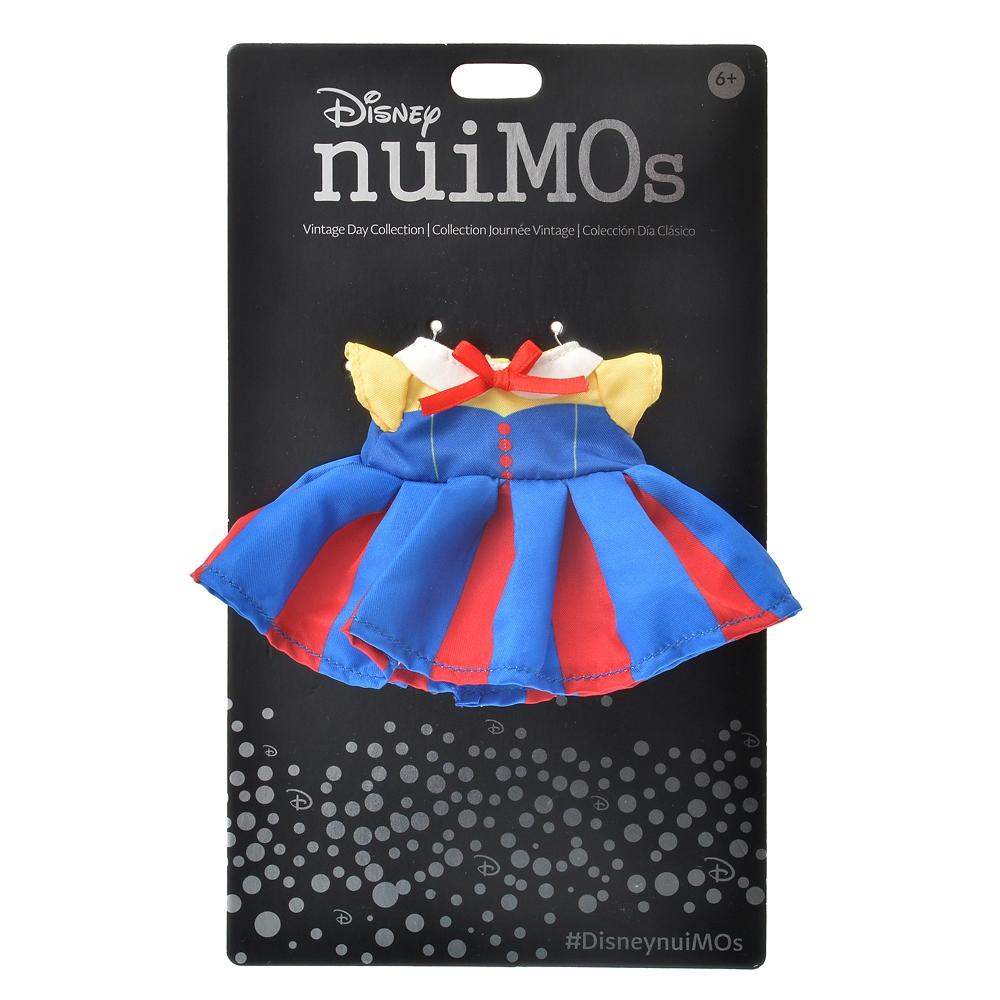 nuiMOs ぬいぐるみ専用コスチューム ワンピース 白雪姫風