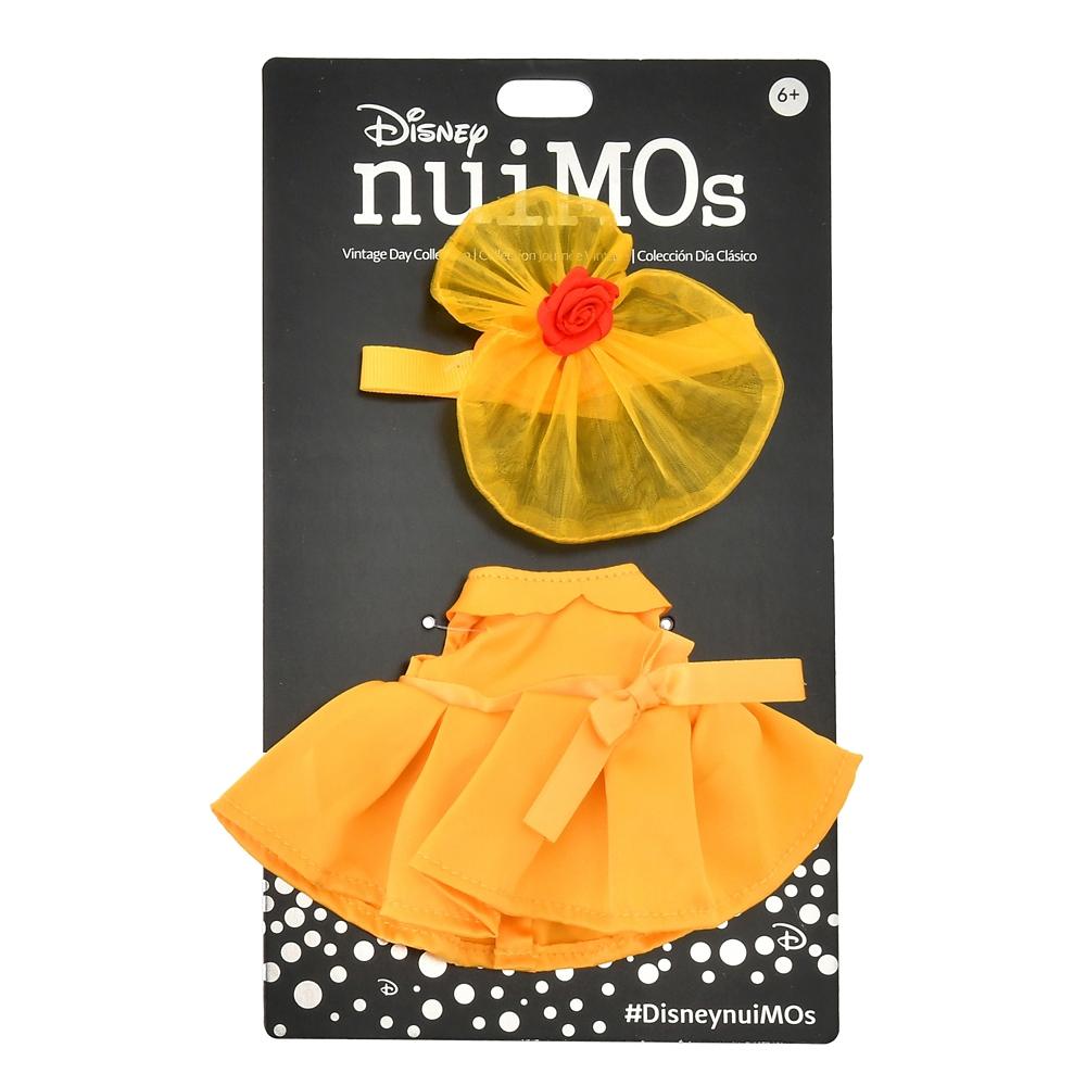nuiMOs ぬいぐるみ専用コスチューム ドレス ベル風