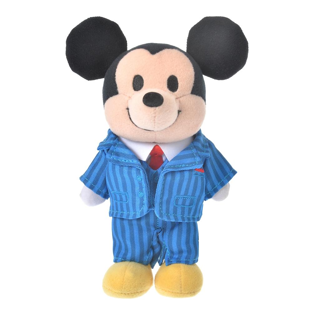 nuiMOs ぬいぐるみ専用コスチューム スーツ ブルー ストライプ柄