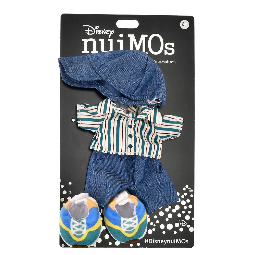 nuiMOs ぬいぐるみ専用コスチューム シャツセット ストライプ柄 カジュアル