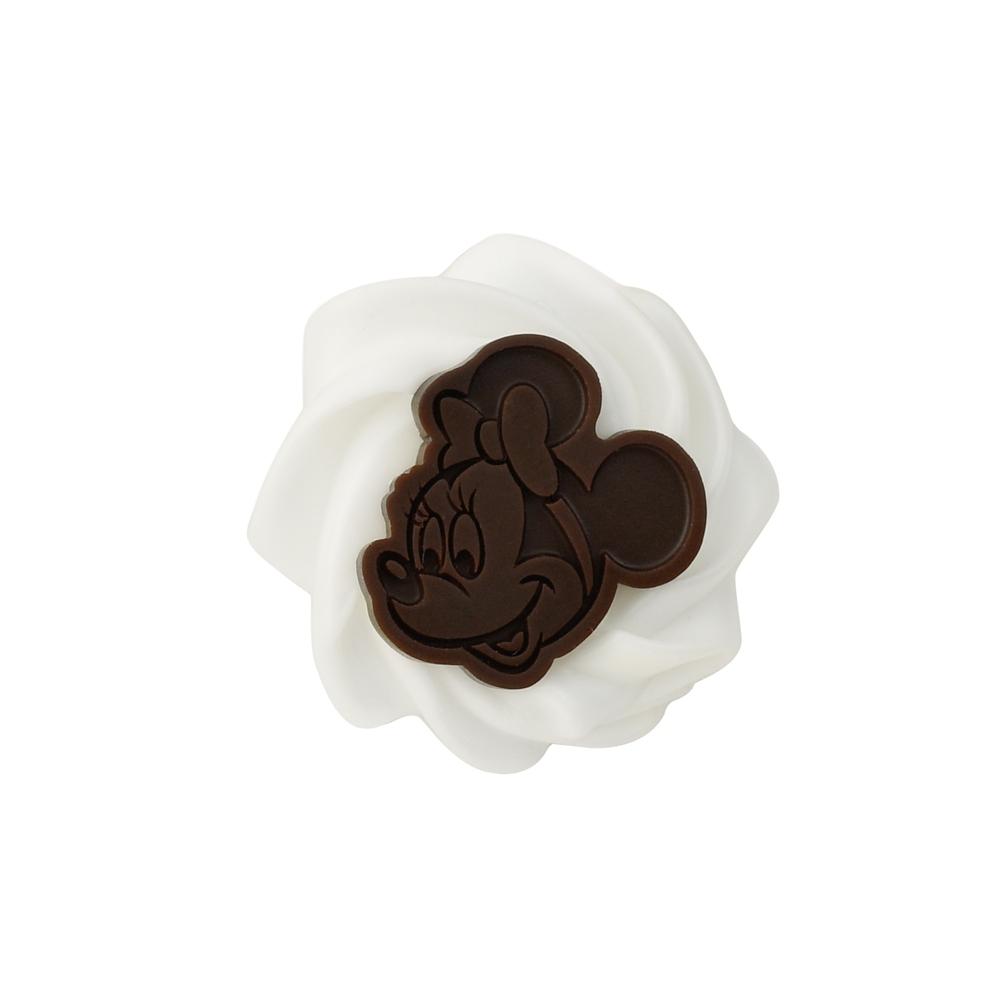 【キューポット】ミッキー&ミニー/ピアス ホイップクリーム&チョコレート