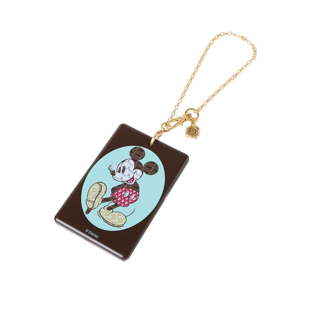 【キューポット】ミッキーマウス/ICカードケース