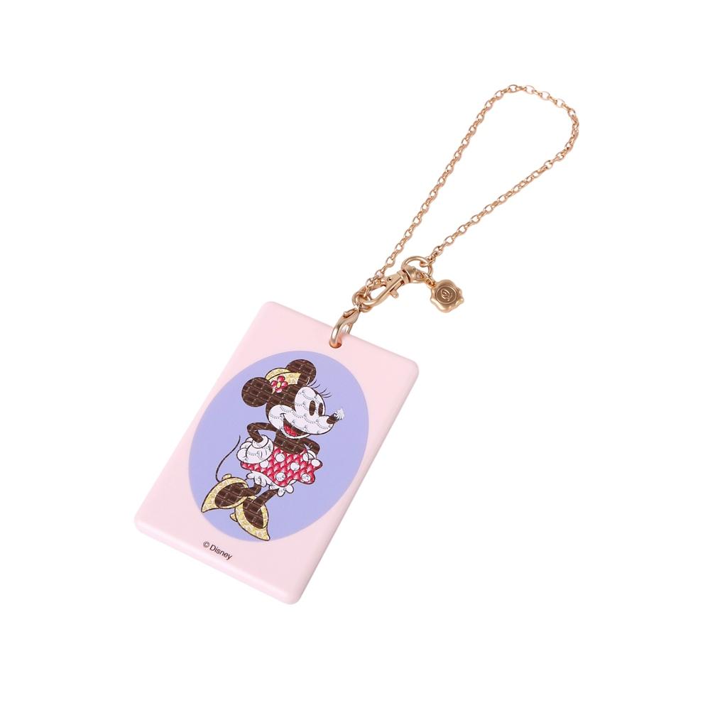 【キューポット】ミニーマウス/ICカードケース