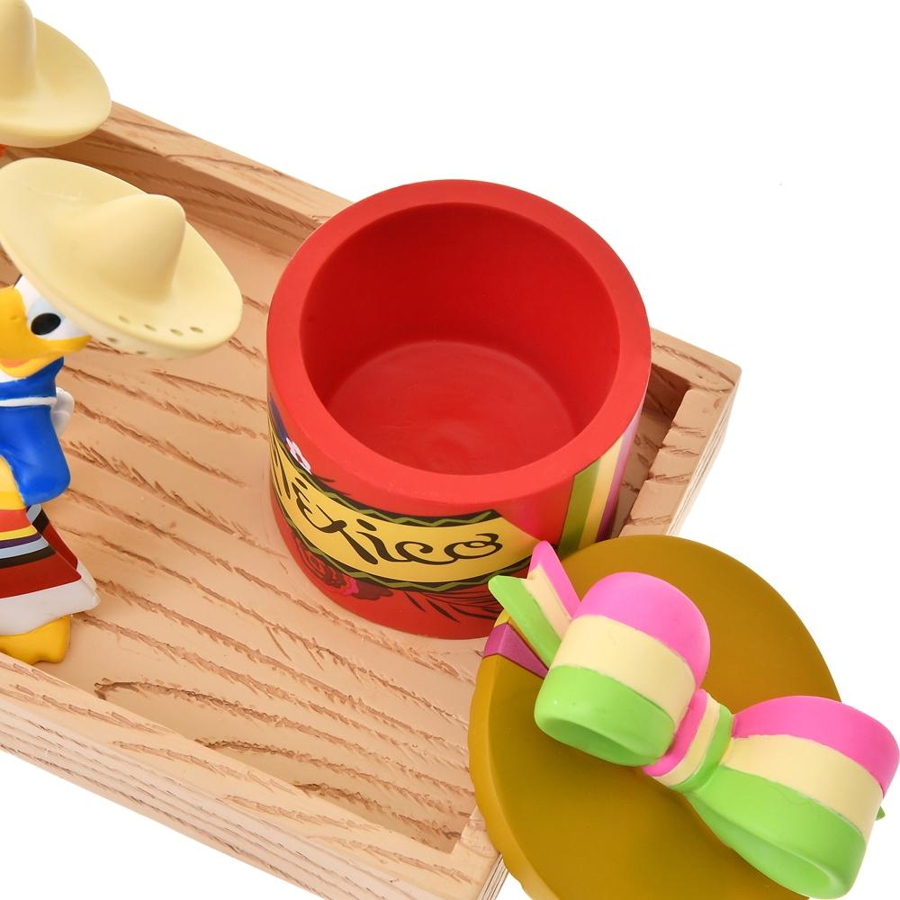 ドナルド、ホセ・キャリオカ、パンチート 小物入れ Donald Duck Birthday 2021
