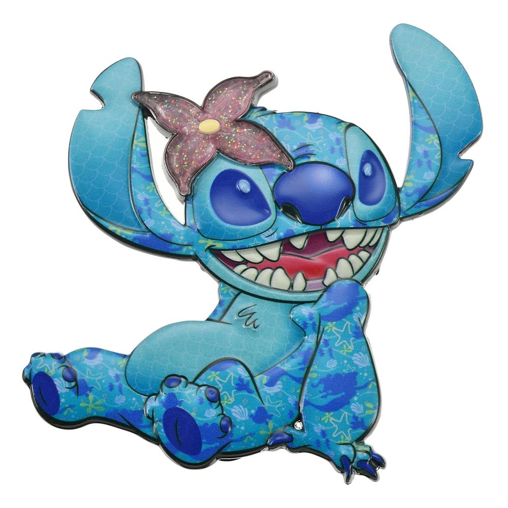 スティッチ ピンバッジ The Little Mermaid Stitch Crashes Disney