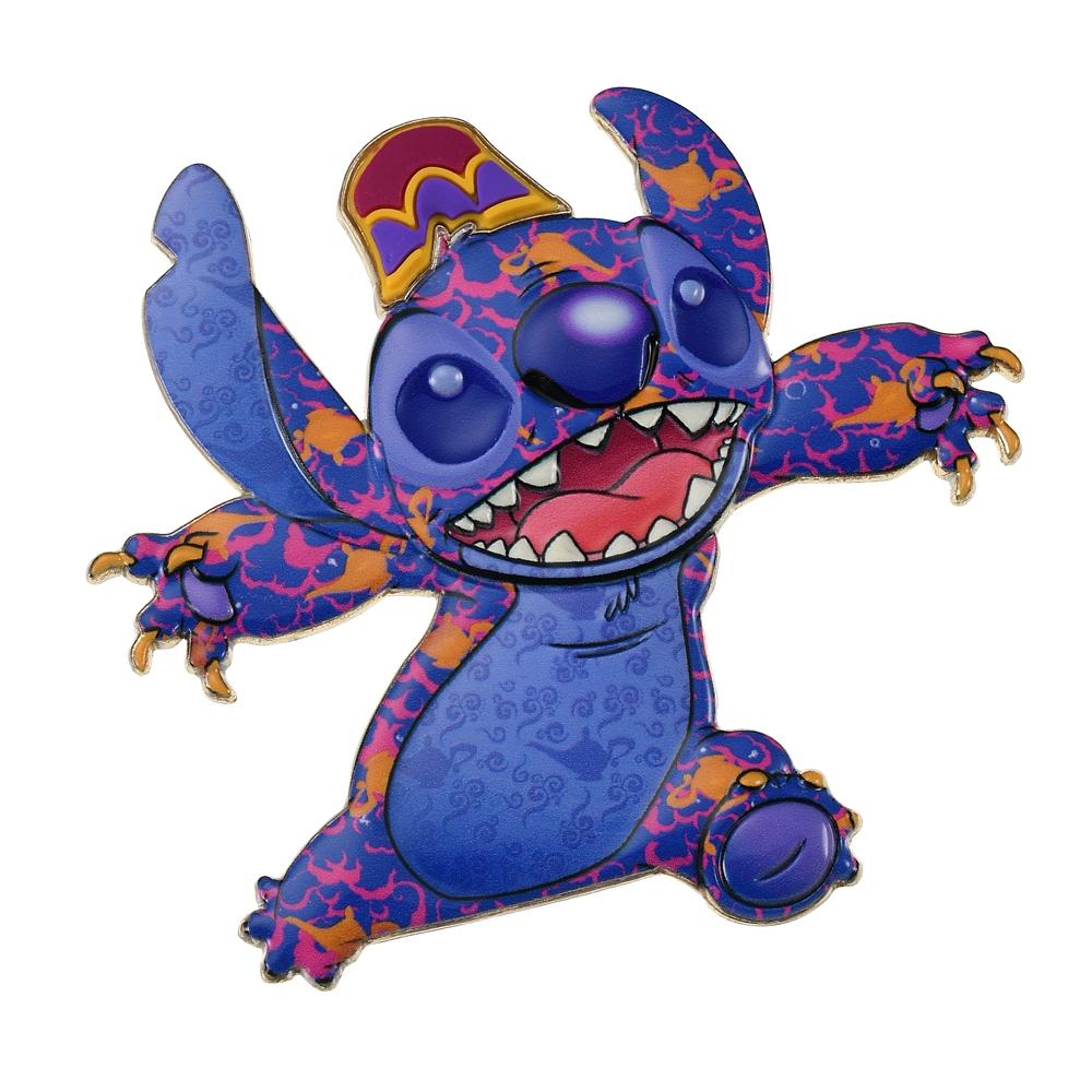 スティッチ ピンバッジ Aladdin Stitch Crashes Disney