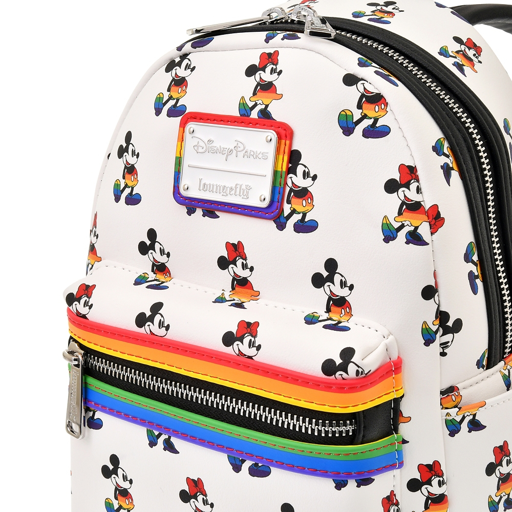 【Loungefly】ミッキー&ミニー ミニリュック The Walt Disney Company's Pride collection