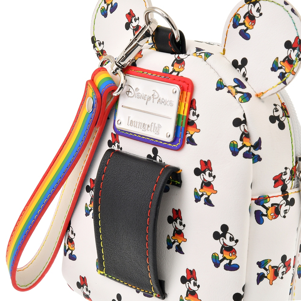 【Loungefly】ミッキー&ミニー リストレット The Walt Disney Company's Pride collection