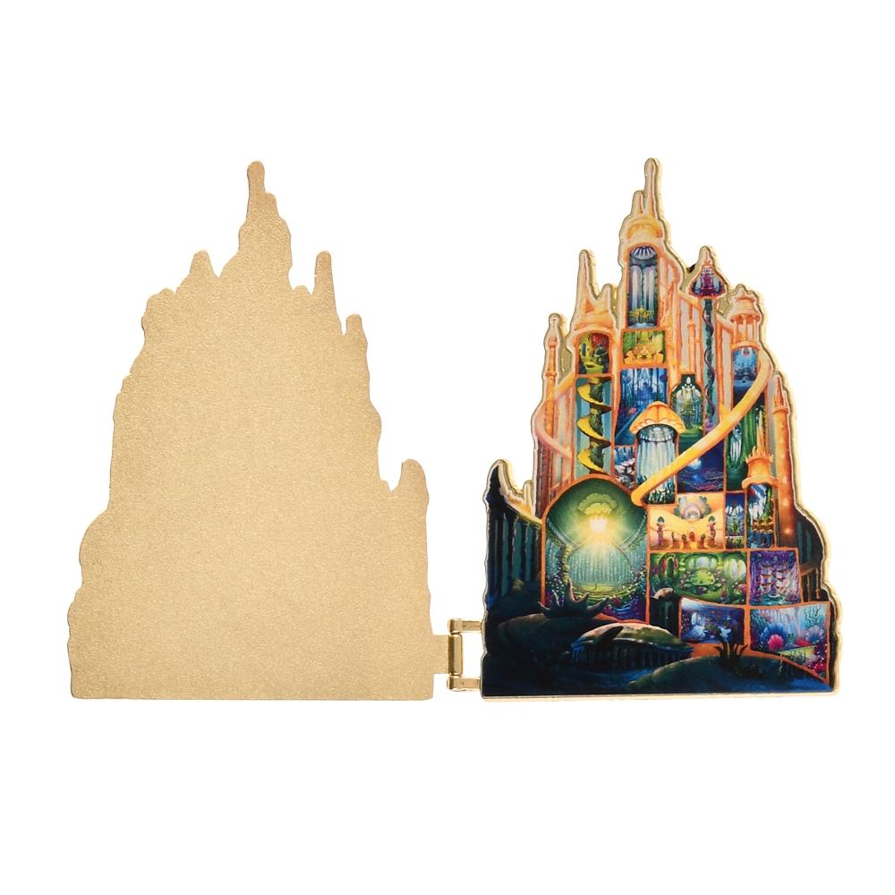 リトル・マーメイド ピンバッジ 城 Disney Castle Collection