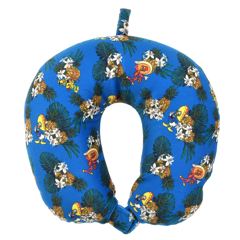 ドナルド、ホセ・キャリオカ、パンチート ネックピロー・アイマスク Donald Duck Birthday 2021