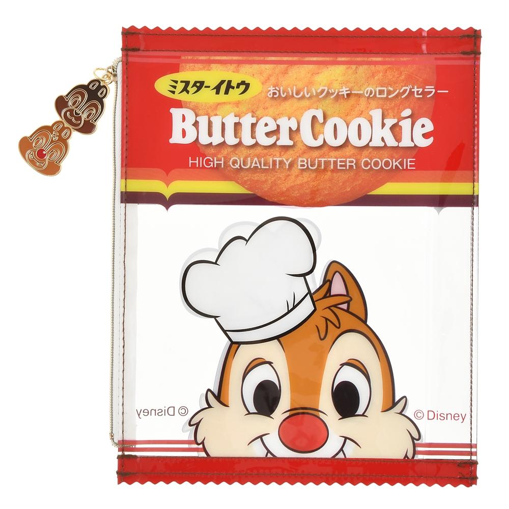 チップ&デール ポーチ クリア Chocochip Cookie