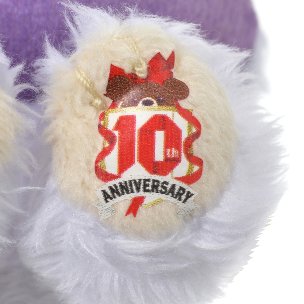 ユニベアシティ パフィー ぬいぐるみキーホルダー・キーチェーン ミニ UniBEARsity 10th Anniversary