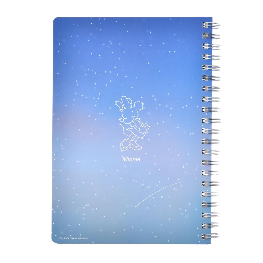 ミニー&フィガロ リングノート Starry sky