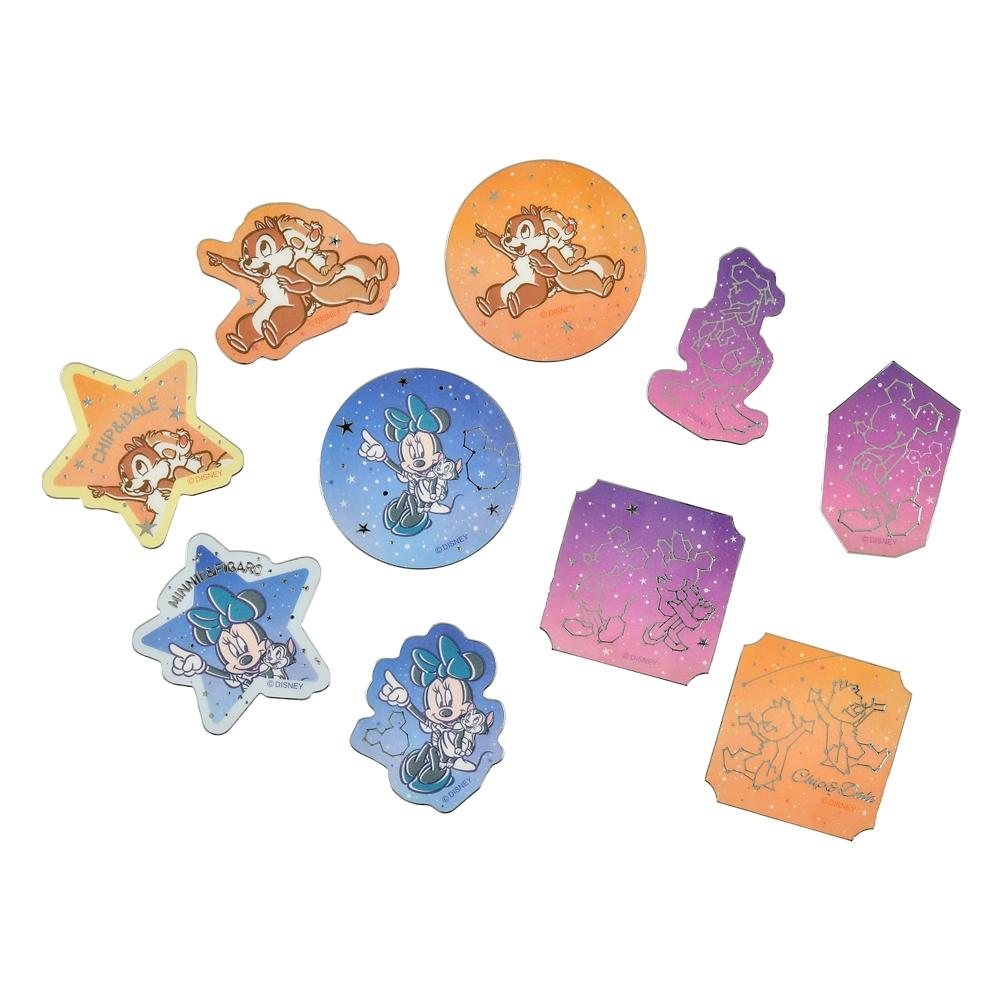 ディズニーキャラクター シール・ステッカー フレーク Starry sky
