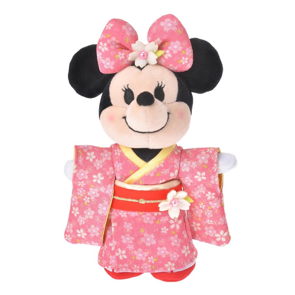 nuiMOs ぬいぐるみ専用コスチューム 着物 桜 ガール