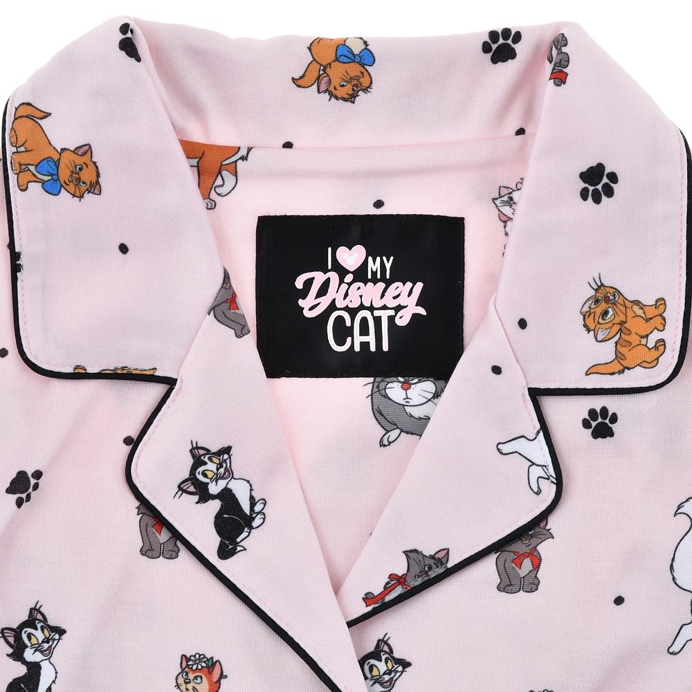 ディズニーキャラクター 長袖パジャマ I Love MY Disney CAT