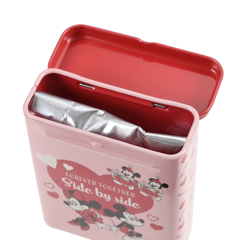 ミッキー&フレンズ チョコレート 缶入り Valentine Pop