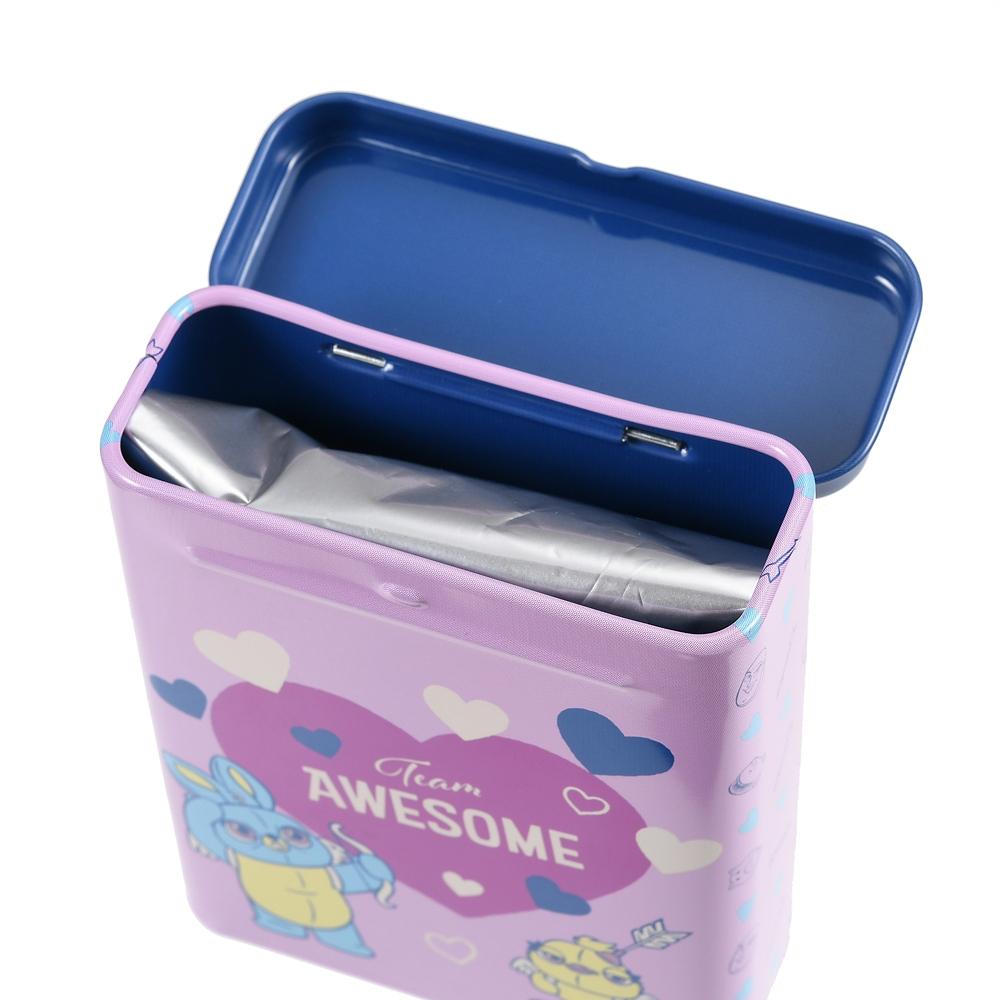 ダッキー&バニー チョコレート 缶入り Valentine Pop