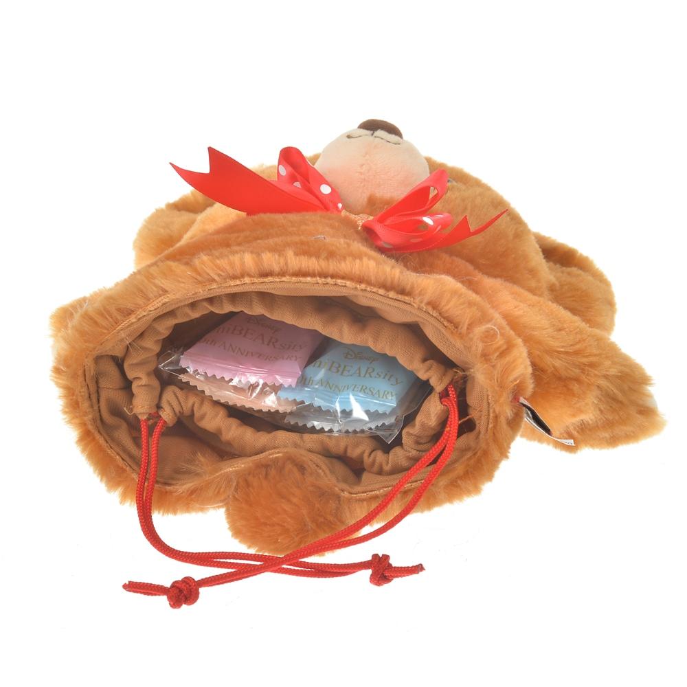 ユニベアシティ モカ チョコレート パペット巾着 UniBEARsity 10th Anniversary