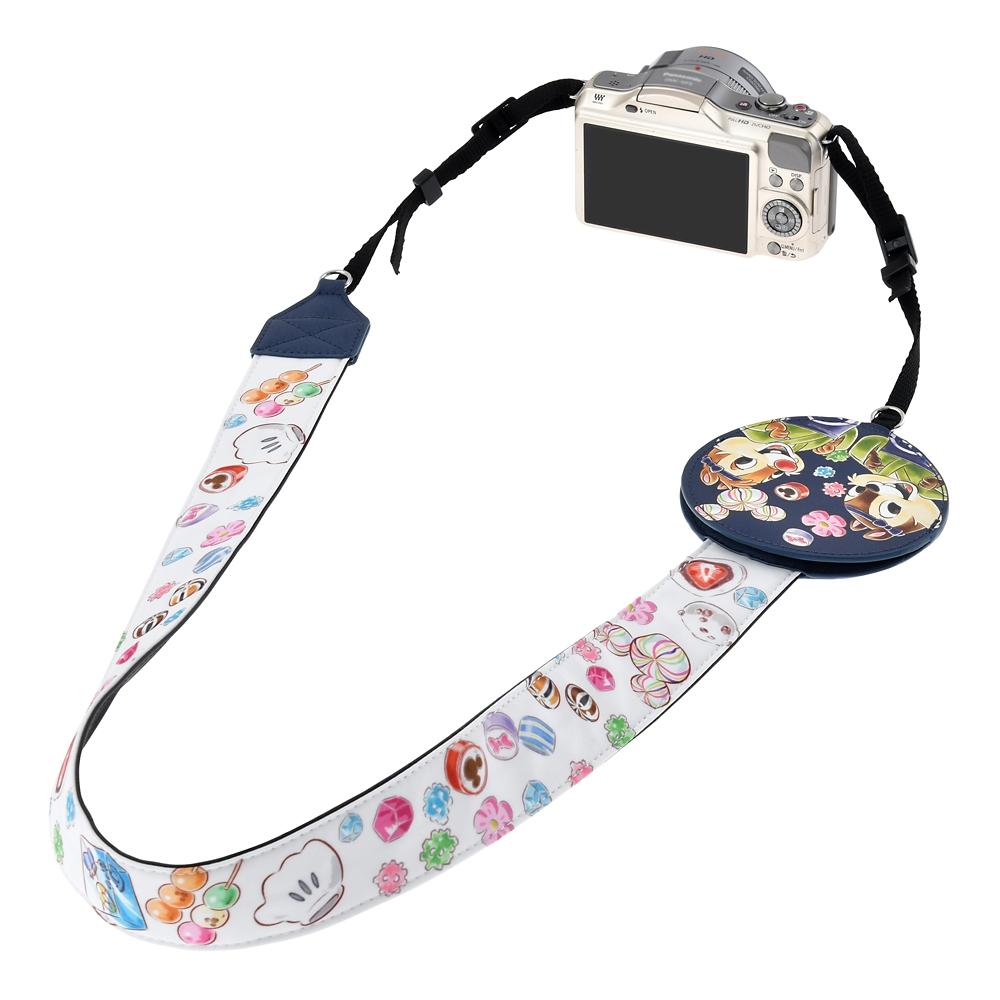 チップ&デール カメラストラップ CHIP AND DALE
