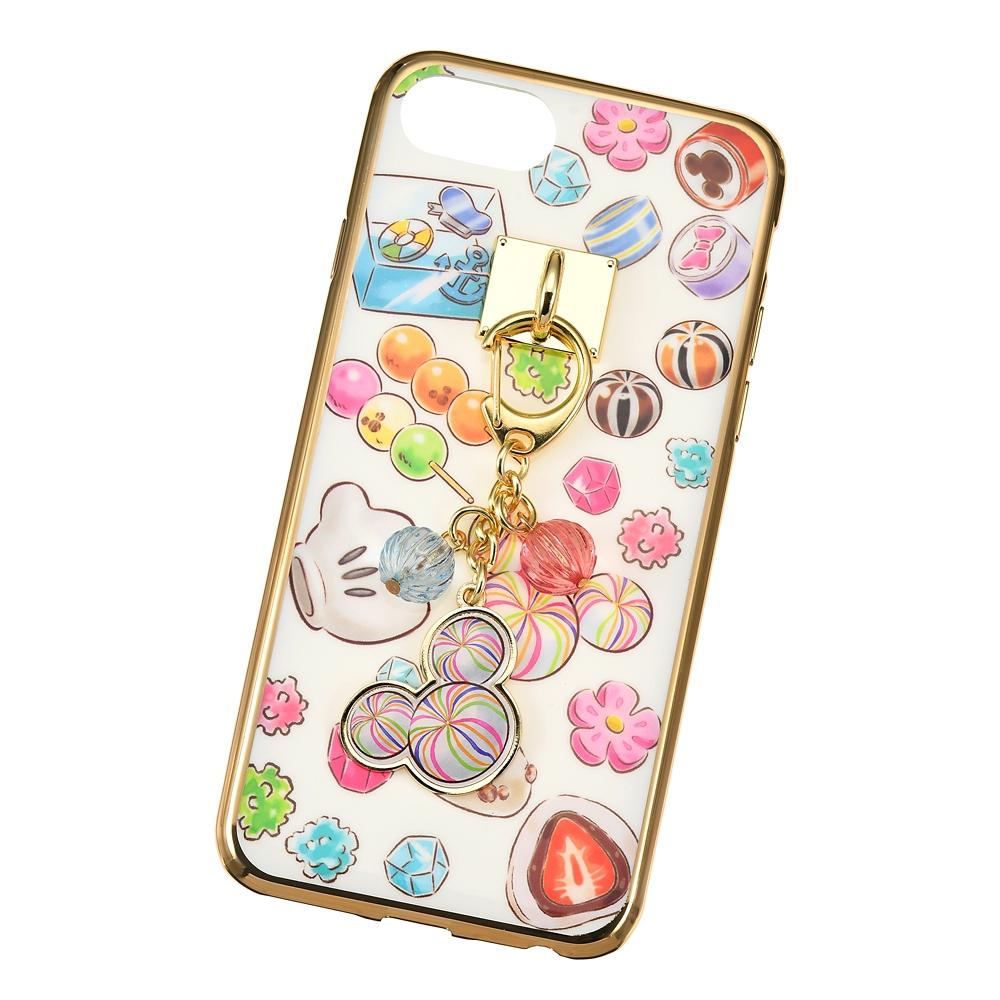 ミッキー&フレンズ iPhone 6/6s/7/8/SE(第2世代)用スマホケース・カバー チャーム付き CHIP AND DALE