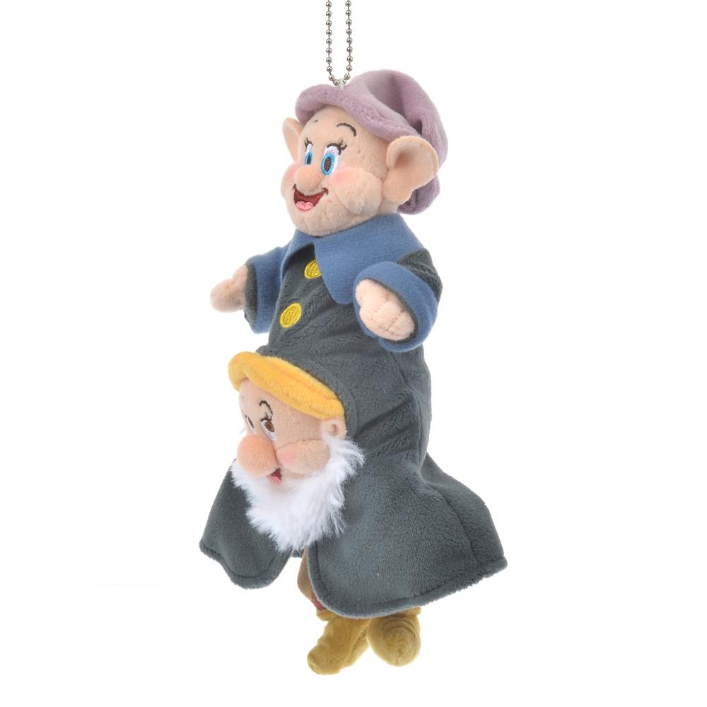 くしゃみ&おとぼけ ぬいぐるみキーホルダー・キーチェーン Snow White and the Seven Dwarfs