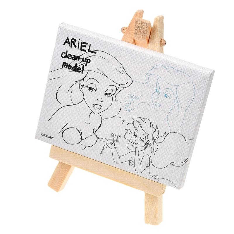 【アウトレット】アリエル キャンバスアート ミニ The Little Mermaid 30th