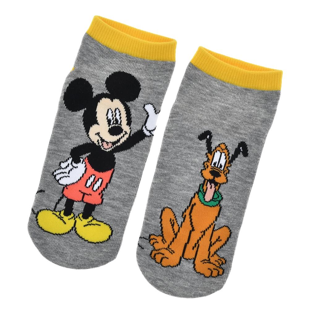ミッキー&プルート 靴下 くるぶし アシンメトリー