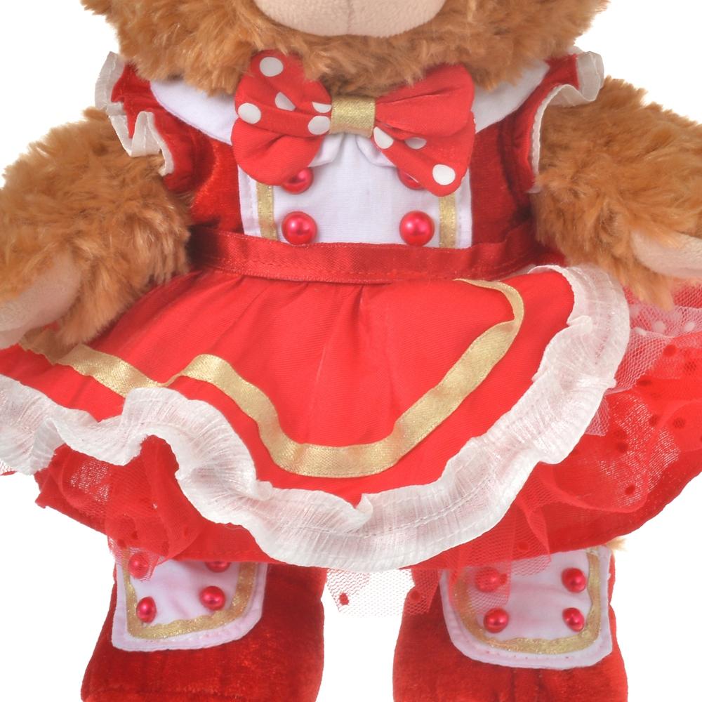 【送料無料】ユニベアシティ ぬいぐるみ専用コスチューム(S) ドレス レッド UniBEARsity 10th Anniversary