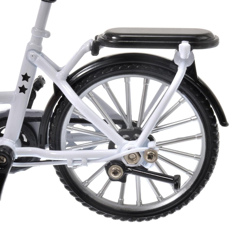 nuiMOs ぬいぐるみ専用自転車 ホワイト&ブラック