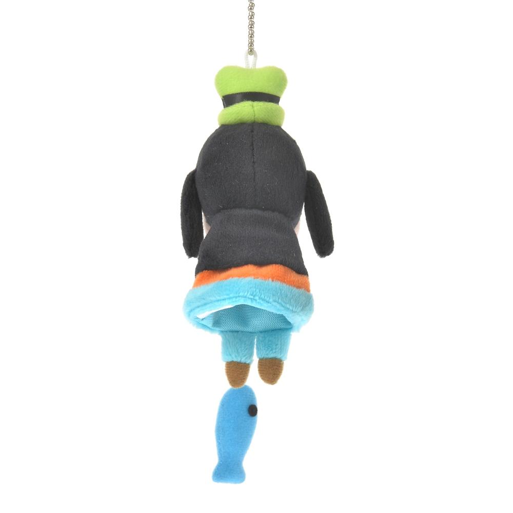 グーフィー ぬいぐるみキーホルダー・キーチェーン 魚釣り フィンガーパペット