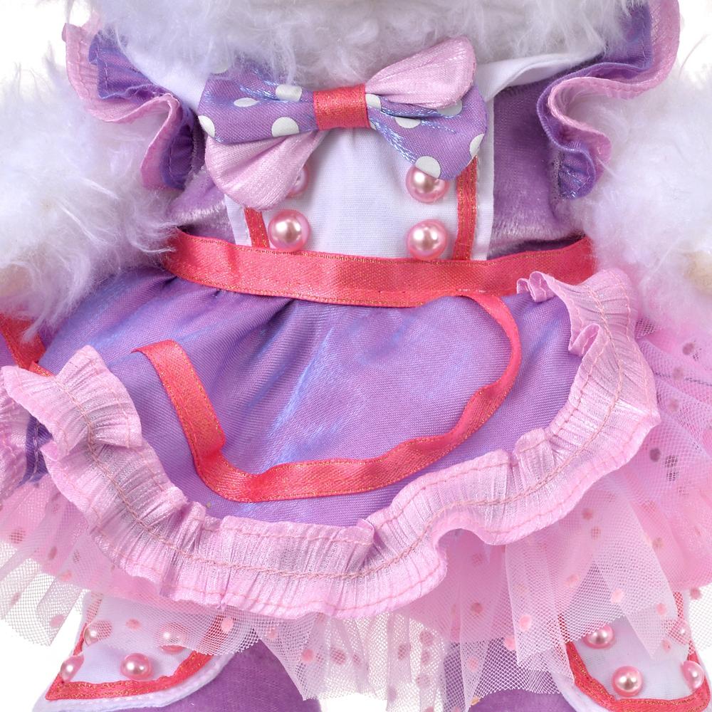 ユニベアシティ ぬいぐるみ専用コスチューム(S) ドレス パープル UniBEARsity 10th ANNIVERSARY