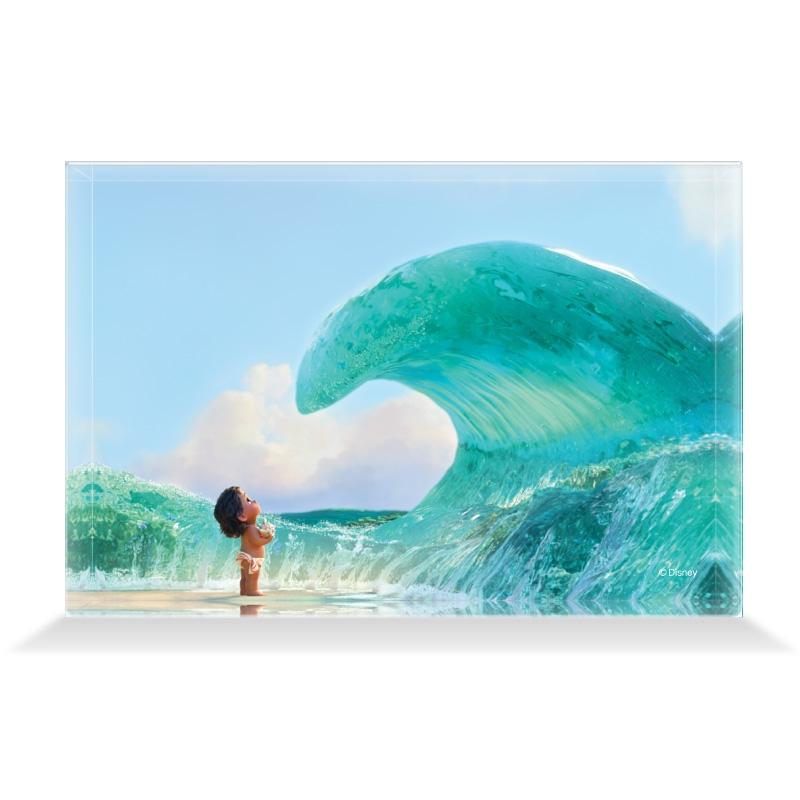 【D-Made】アクリルブロック 映画 『モアナと伝説の海』 モアナ