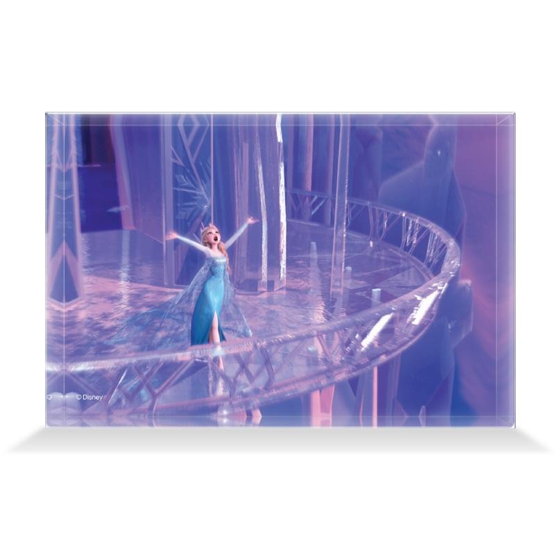 【D-Made】アクリルブロック 映画 『アナと雪の女王』 エルサ