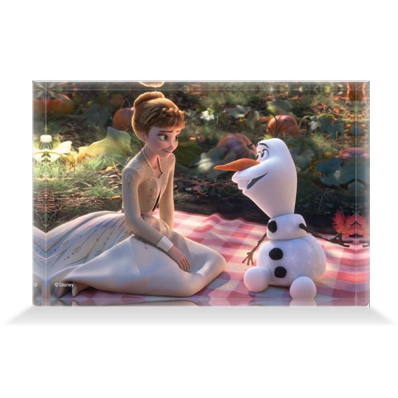 【D-Made】アクリルブロック 映画 『アナと雪の女王2』 アナ&オラフ