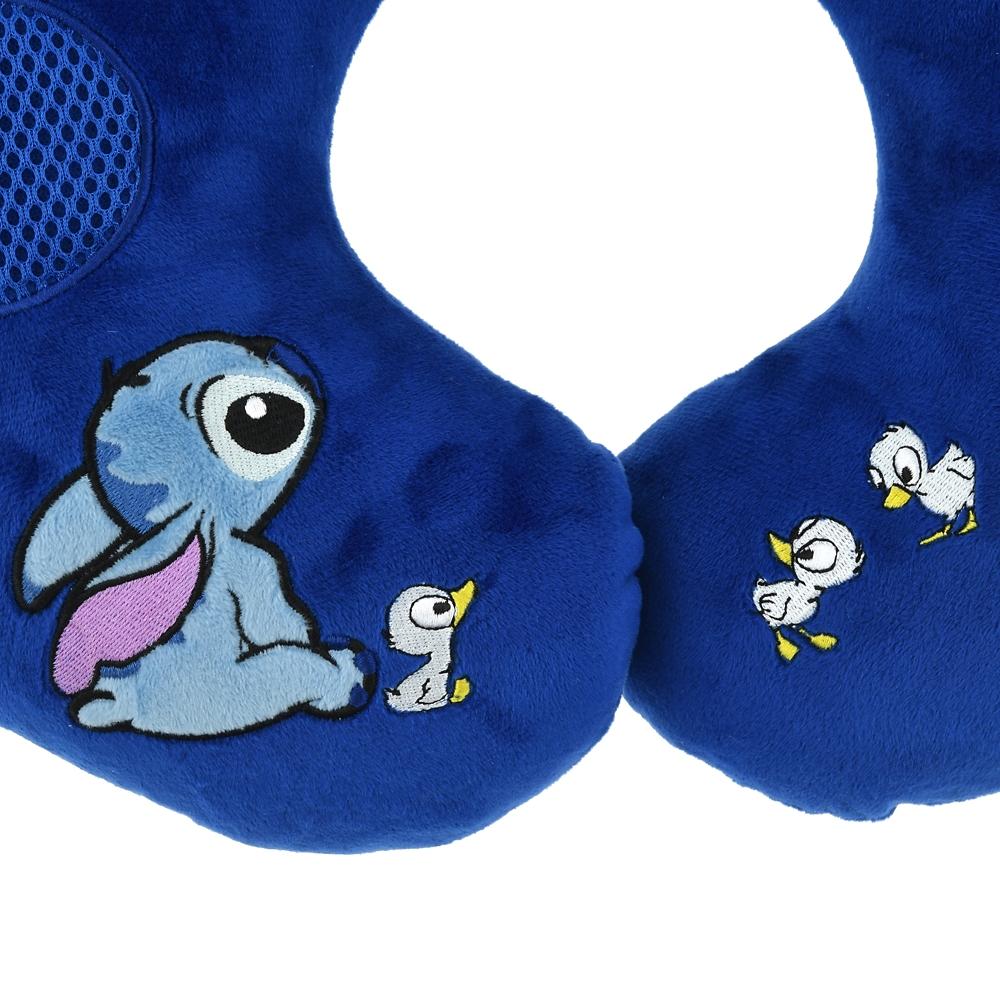 スティッチ ネックピロー スピーカー付き Stitch's OHANA
