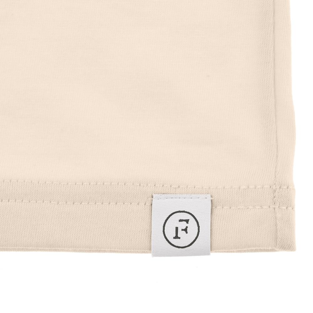 【FOOD TEXTILE】チップ&デール 半袖Tシャツ オフホワイト Chip&Dale FOOD TEXTILE
