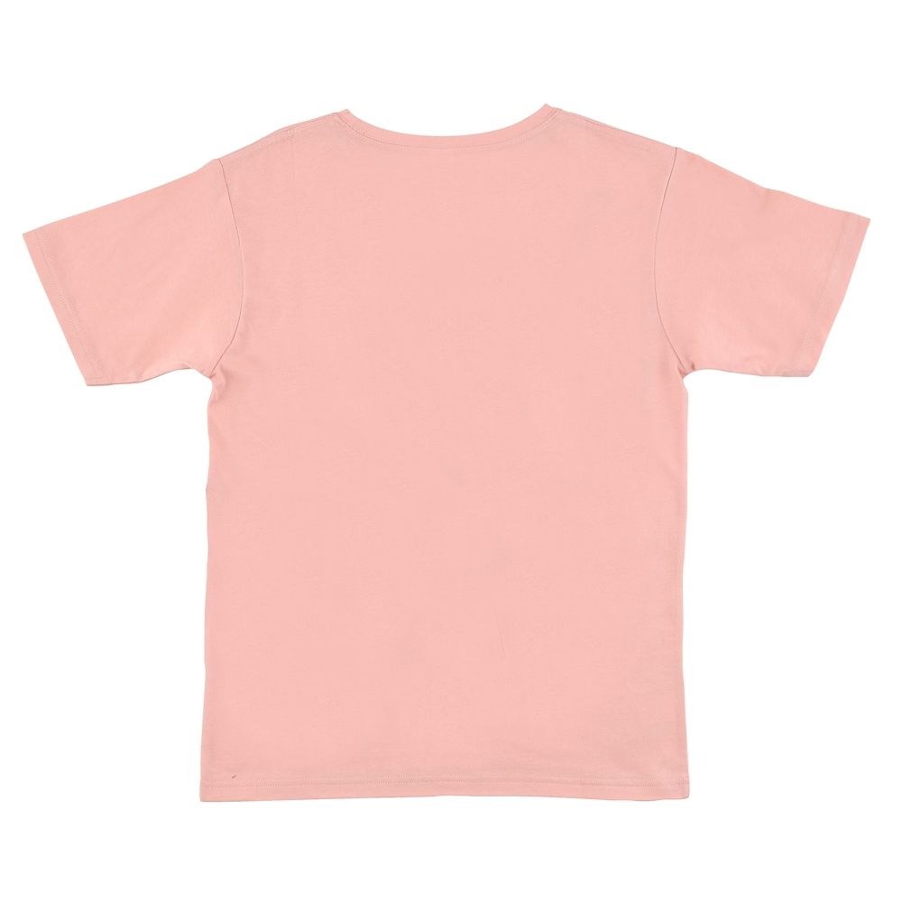 【FOOD TEXTILE】チップ&デール 半袖Tシャツ ピンク Chip&Dale FOOD TEXTILE