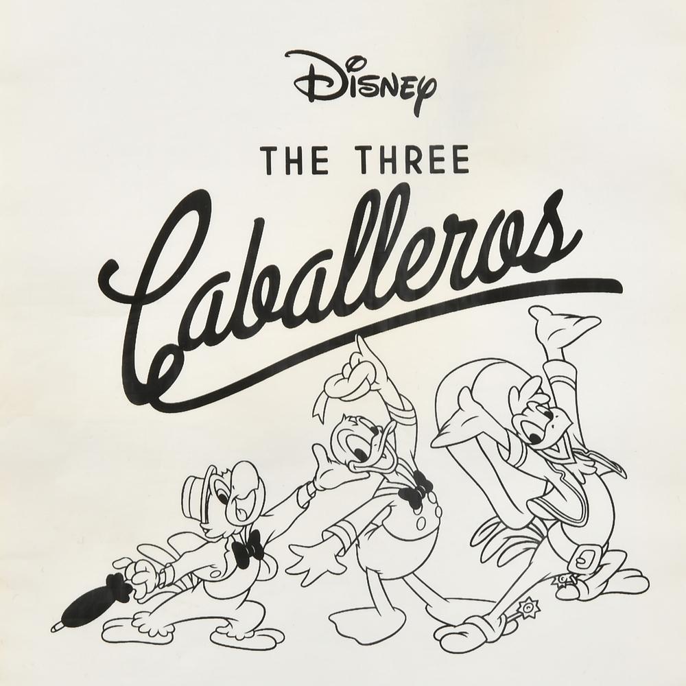 ドナルド、ホセ・キャリオカ、パンチート トートバッグ 三人の騎士 TOTE BAG Collection