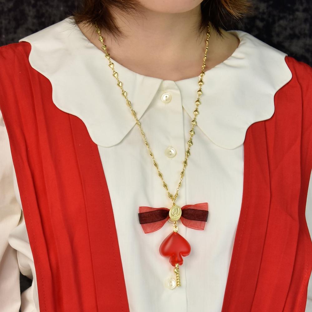 【キューポット】デュース・スペード/ネックレス グミキャンディー