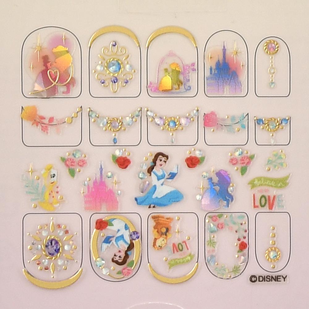 【the NAMIE nail art collection】美女と野獣 ネイルシール LOVE