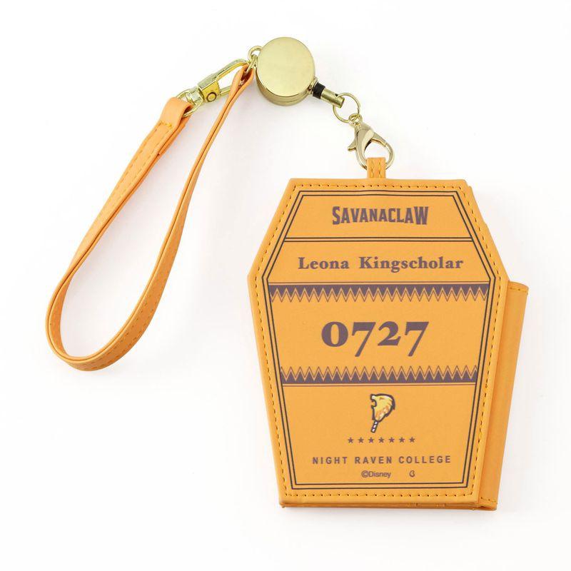 【送料無料】レオナ・キングスカラー 定期入れ・パスケース 2つ折り 『ディズニー ツイステッドワンダーランド』