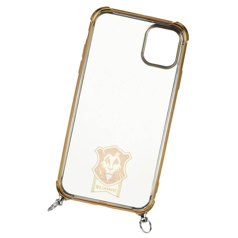 サバナクロー寮 iPhone 11用スマホケース・カバー ストラップ付き 寮章 『ディズニー ツイステッドワンダーランド』