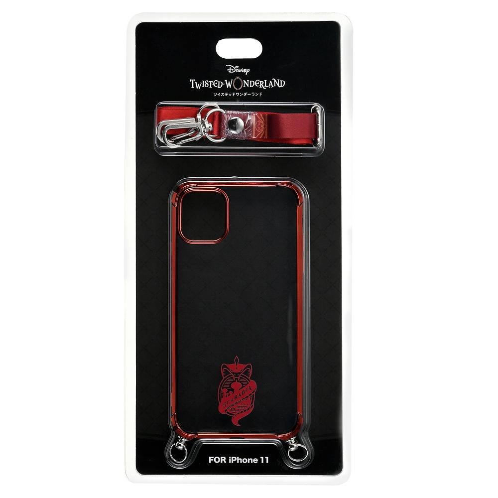 スカラビア寮 iPhone 11用スマホケース・カバー ストラップ付き 寮章 『ディズニー ツイステッドワンダーランド』