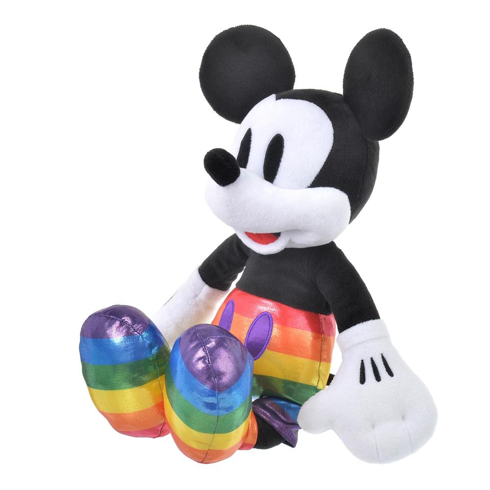 ミッキー ぬいぐるみ The Walt Disney Company's Pride collection
