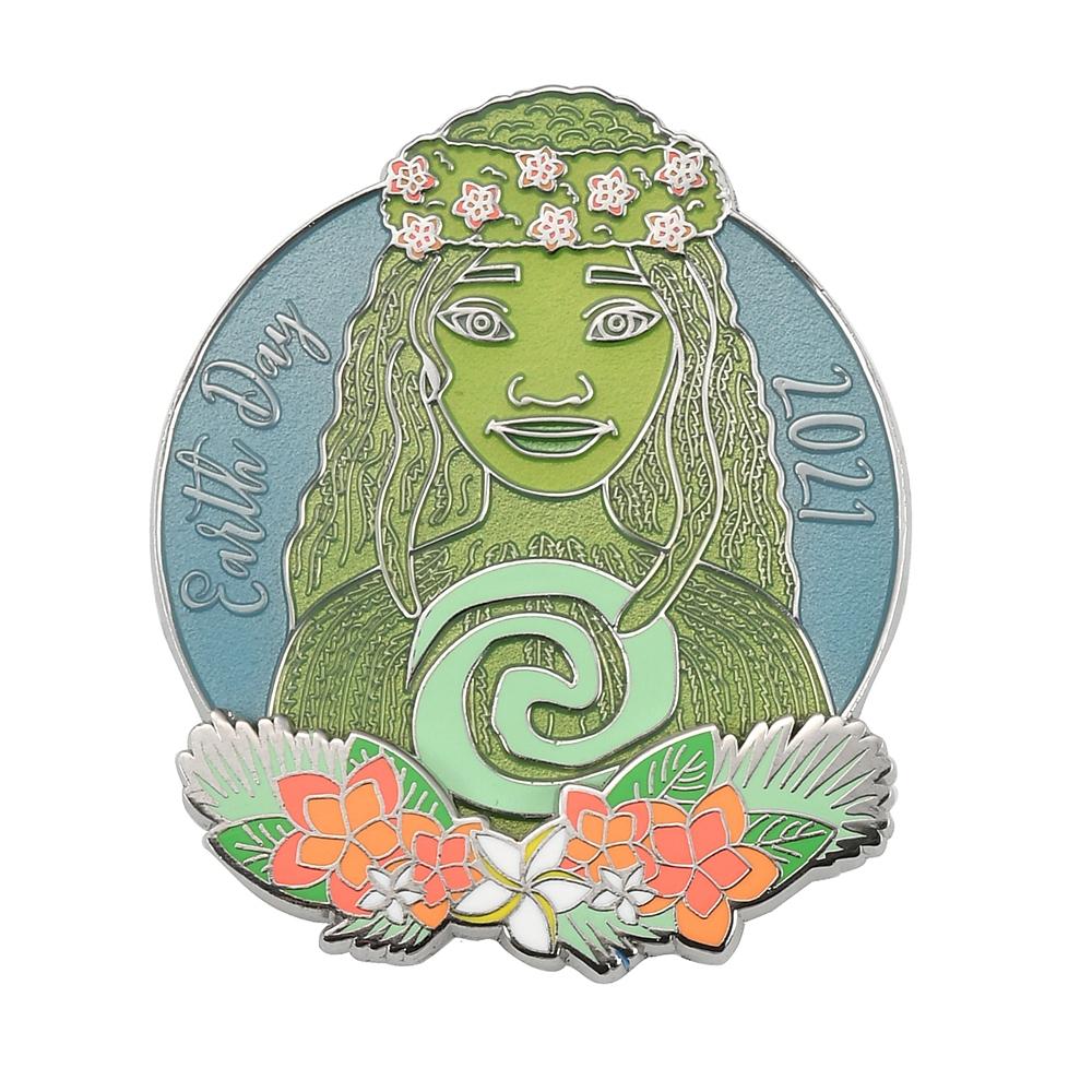 テ・フィティ ピンバッジ モアナと伝説の海 Earth Day 2021