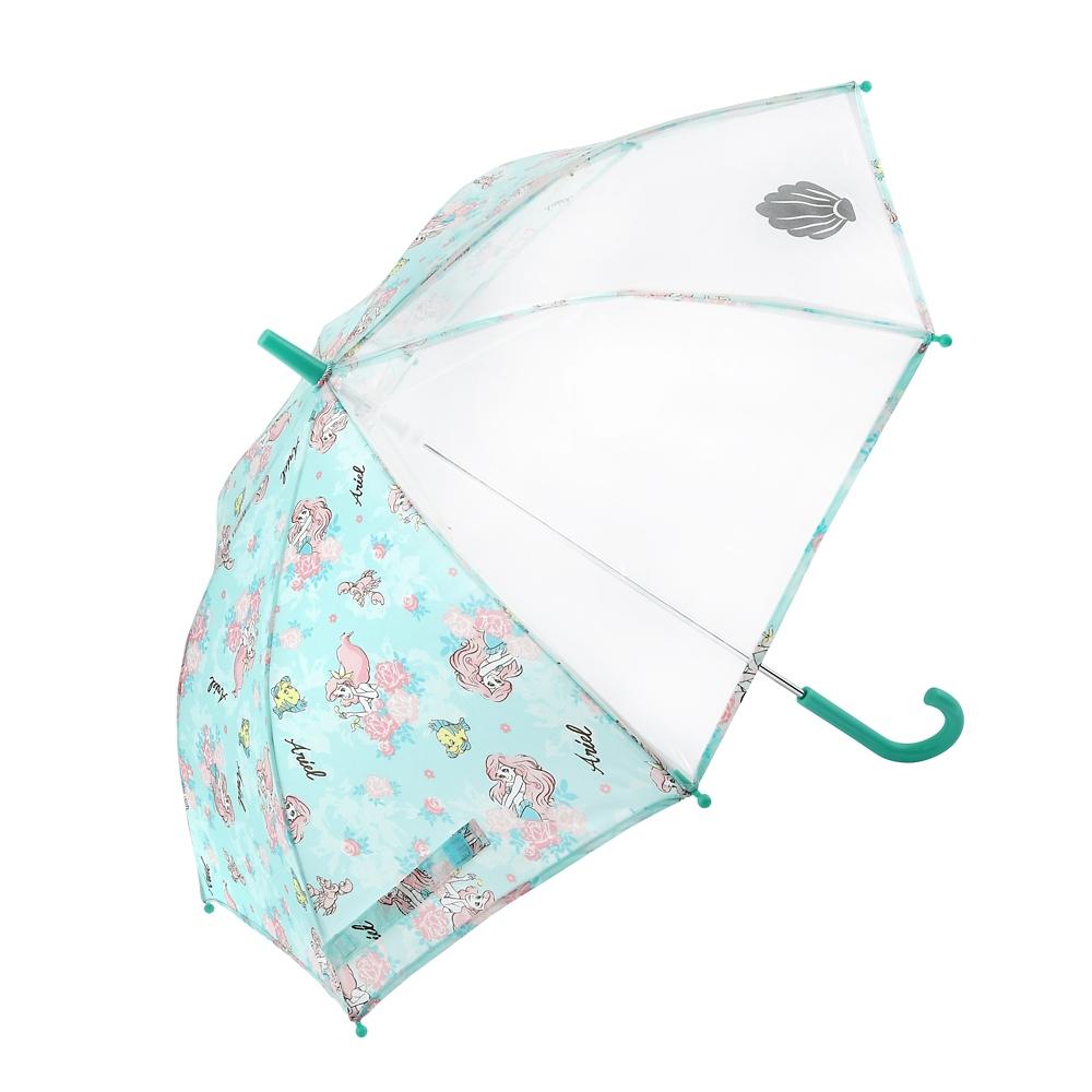 アリエル、フランダー、セバスチャン キッズ用傘 リフレクター フラワー チュールレース風 Rain
