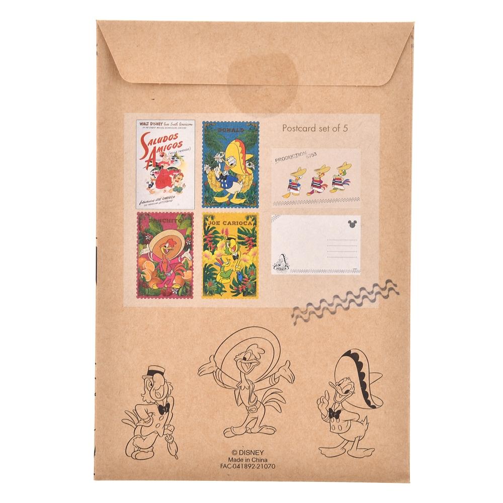 ドナルド、ホセ・キャリオカ、パンチート ポストカード Donald Duck Birthday 2021