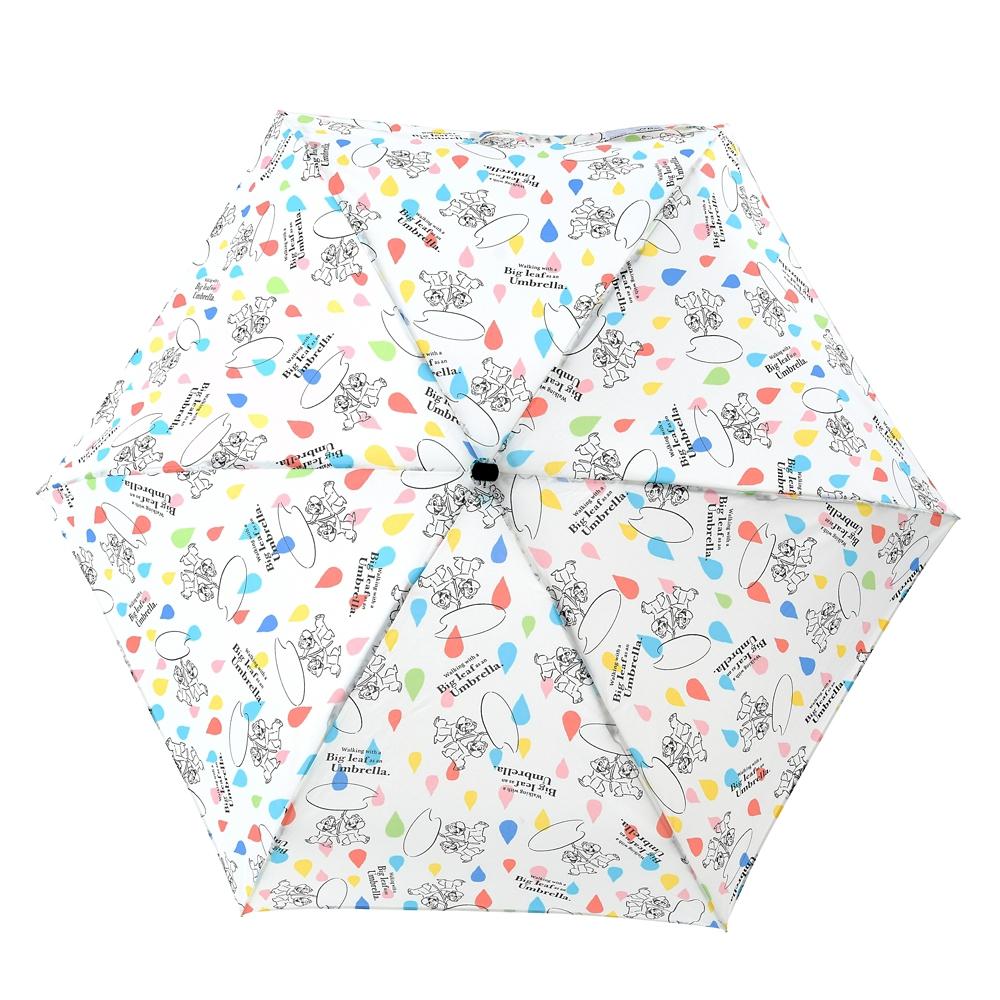 【Wpc.】チップ&デール 折りたたみ傘 ポーチ付き Rainy Day 2021